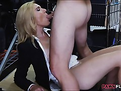 Hot pretty good milf sucked..