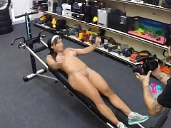 Coloured gym motor coach fucked..