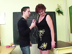 German Milf Cram comport..