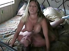 Amber Lynn Bach gets fucked on..