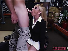 Peaches milf kneels in all..