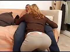 Bazaar milf fucked away from 2..