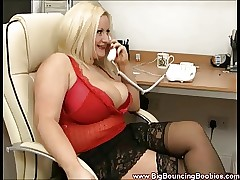 British Heavy Titted Slapper Teri Fiend