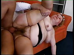 Granny Wench unending anal