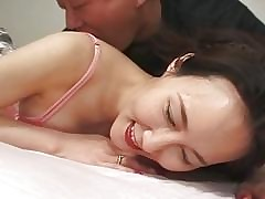 Hot Asian Babe in arms Gets..