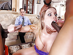 Cuckold Watches Anal Old bag..