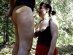 Alfresco bonking my Milf