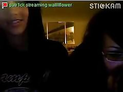 Stickam Teen Masturbates aloft..