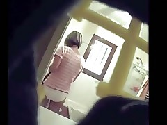 Milf girls' room spycam