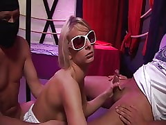 German Gangbang-Party: Paris..