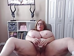Beat out bbw ups a extended jugs