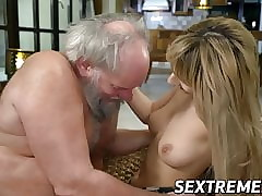 Young pussy fucked hard by..