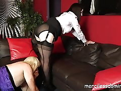 Floozy Sadie Ashamed plus Caned..